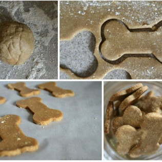 HOME MADE GOOD DOG BISCUITS